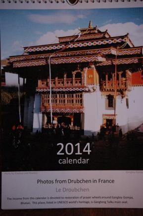 Okładka klasztor Gangteng